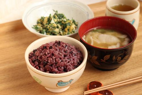古代米ご飯